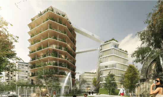 Les villes se réinventent en bois