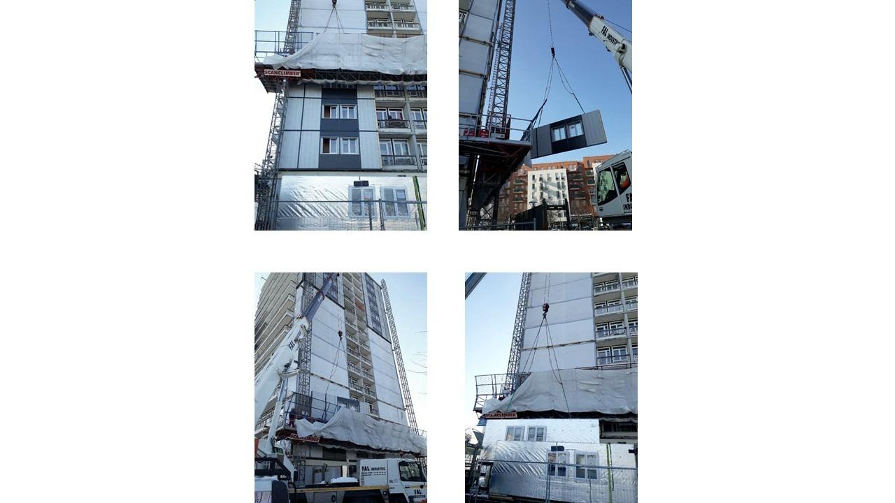 Rénovation bas carbone des façades