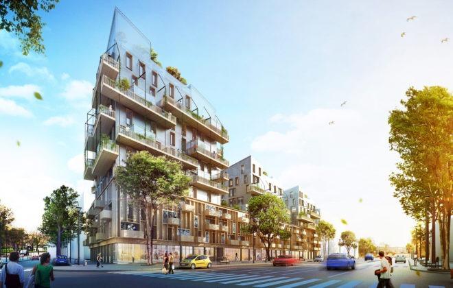 Premier immeuble de grande hauteur 100% bois