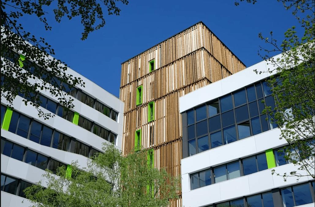 Réhabilitation bureau - Facade bois