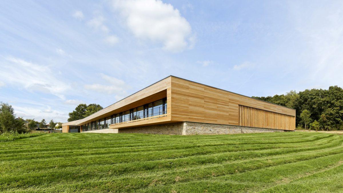 Groupe scolaire Simone Veil Magny le Hongre. SL Architectes. Lauréats 2018