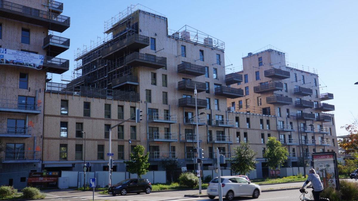 chantier Immeuble sensations à Strasbourg